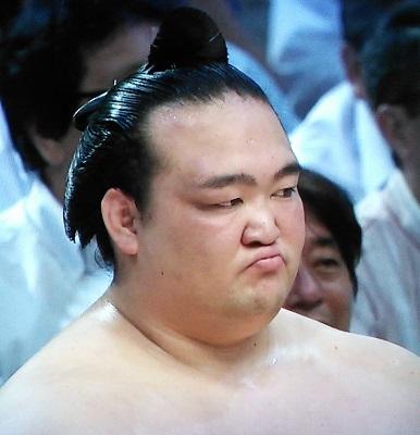 20160718 稀勢の里白鵬敗戦後変顔
