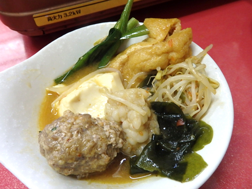 46テッチャン肉団子薄揚げ野菜