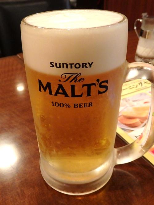 08生ビール