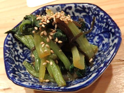 23小松菜の塩昆布和え