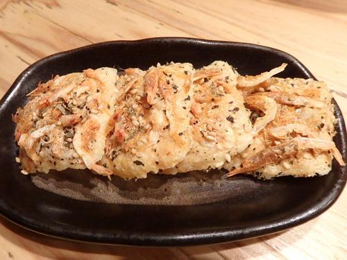 26桜エビのチーズカリカリ焼き