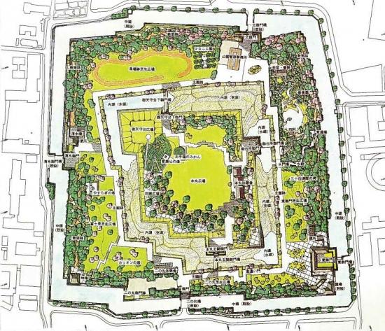 静岡市の駿府城整備計画