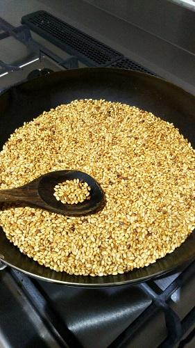 煎り玄米②