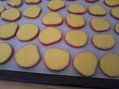 おいもクッキー②