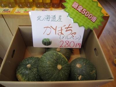 秋キャンペーン2016 かぼちゃ