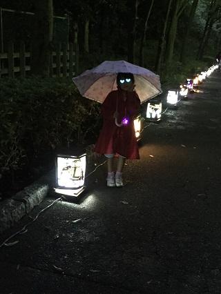 夜の金沢動物園