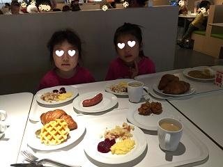 イケアで朝食