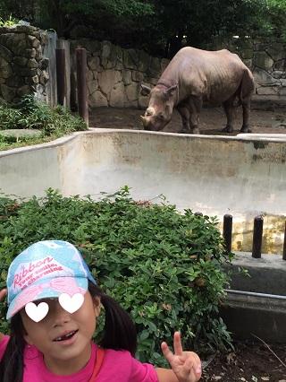 上野動物園サイ