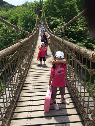 小田原わんぱくらんど吊り橋