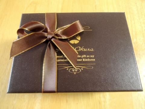 ホテルオークラのチョコレート詰め合わせ 201602 (2)