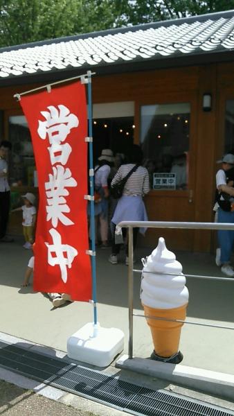 うだアニマルパーク ソフトクリーム (1)