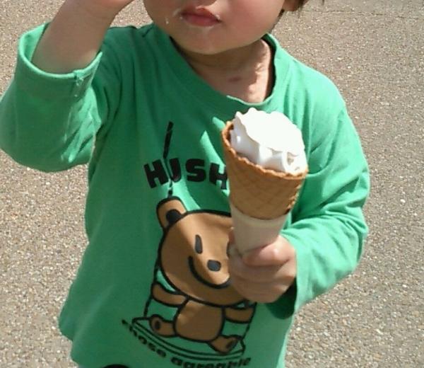 うだアニマルパーク ソフトクリーム (14)