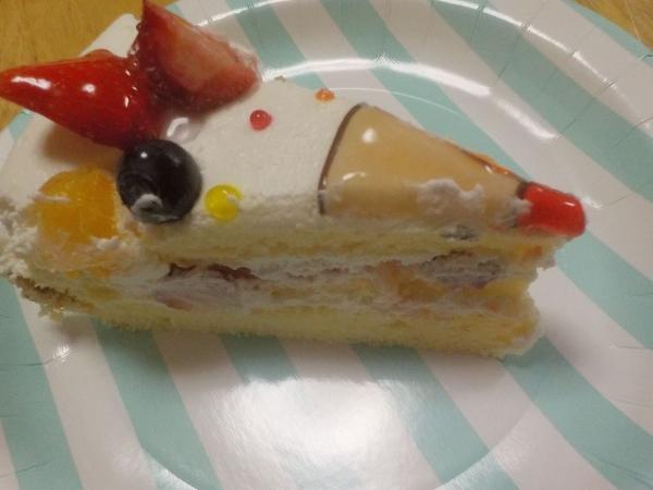 ケンテル201606 ときひさ誕生日ケーキ (1)