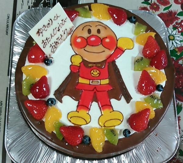 ケンテル201606 ときひさ誕生日ケーキ