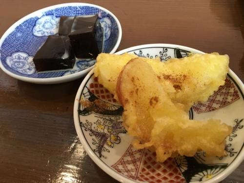 2016-09-19リンゴ天ぷら