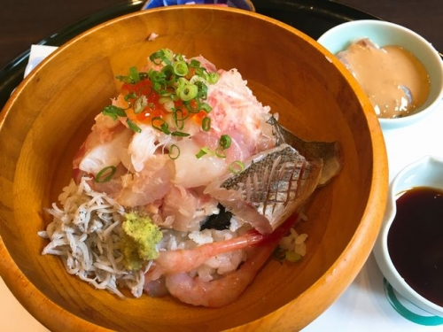 2016-10-05海鮮ひつまぶし