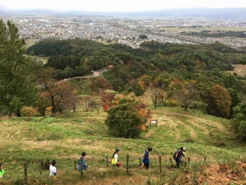 2016-11-06 春日山山頂からの眺め