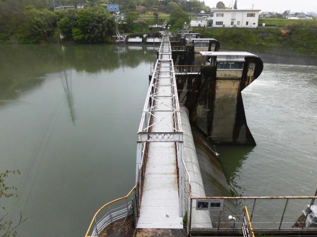 南向発電所取水堰堤 (3)