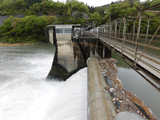 南向発電所取水堰堤 (5)