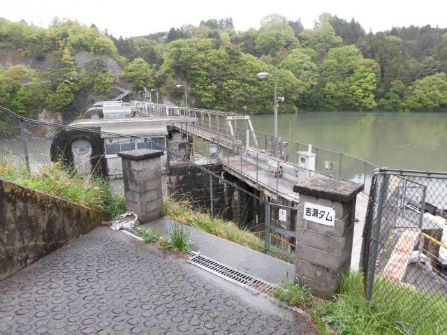 南向発電所取水堰堤 (6)
