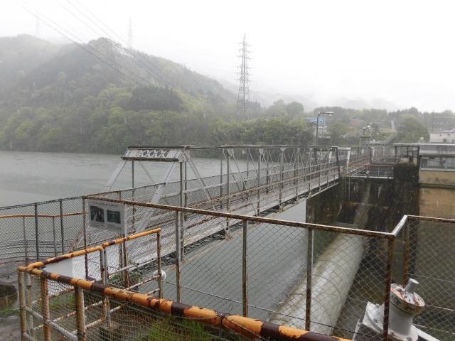 南向発電所取水堰堤 (9)