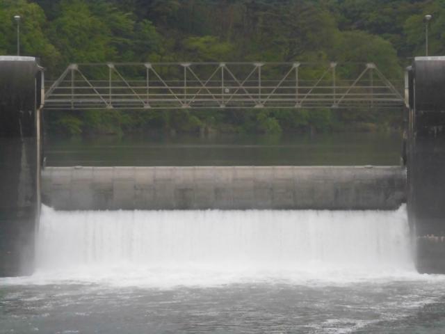 南向発電所取水堰堤 (11)