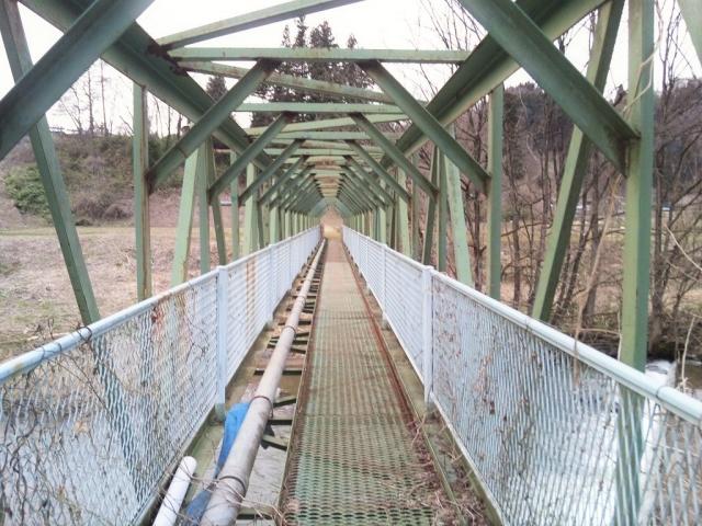 大野のトラス橋 (2)