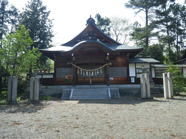 岡田神社の石橋 (9)