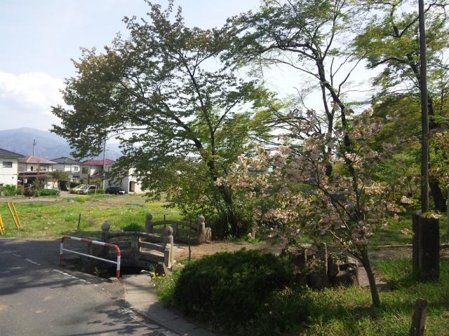 岡田神社の石橋 (6)