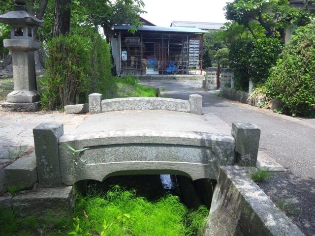 光蓮寺の参道橋 (3)