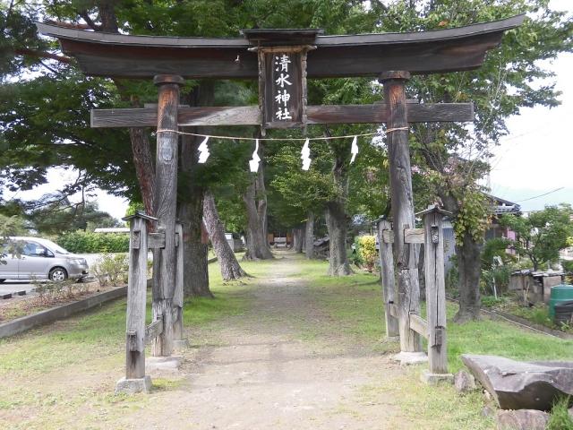 清水神社の太鼓橋 (5)