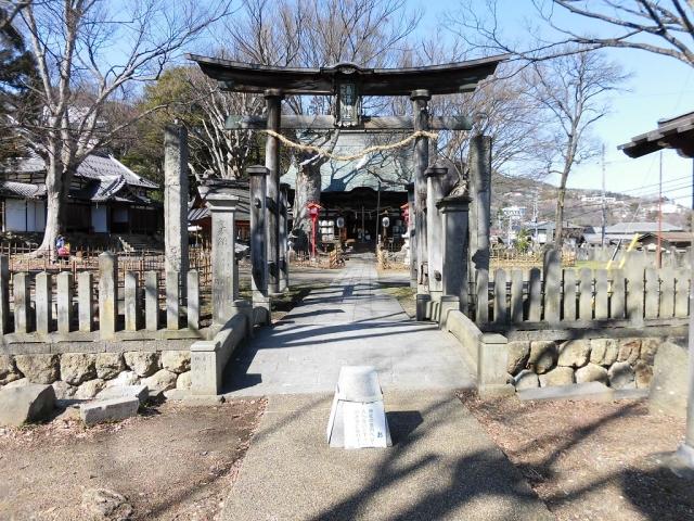 湯福神社の参道橋