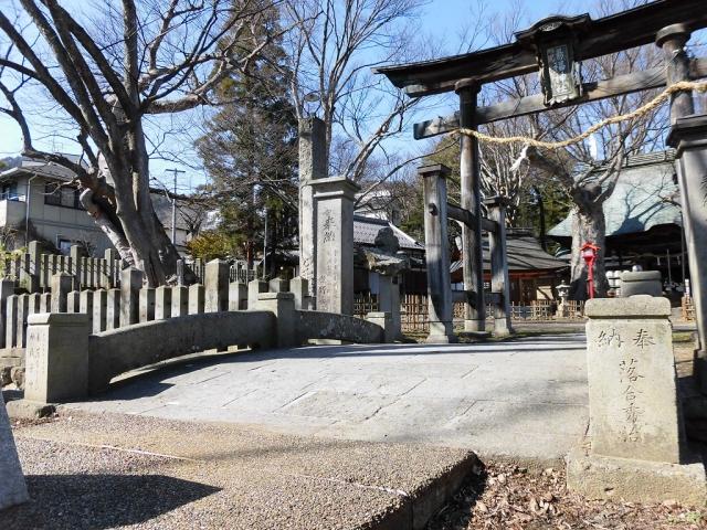 湯福神社の参道橋 (3)