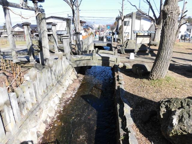 湯福神社の参道橋 (4)
