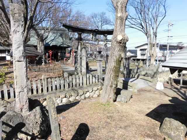 湯福神社の参道橋 (5)
