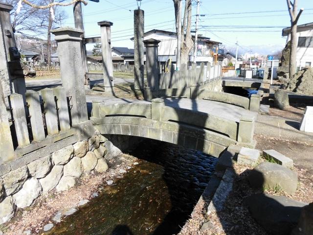 湯福神社の参道橋 (6)