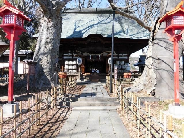湯福神社の参道橋 (8)