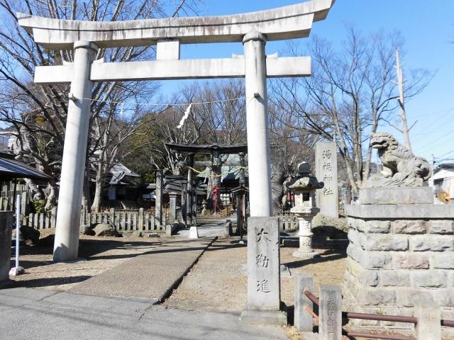 湯福神社の参道橋 (9)