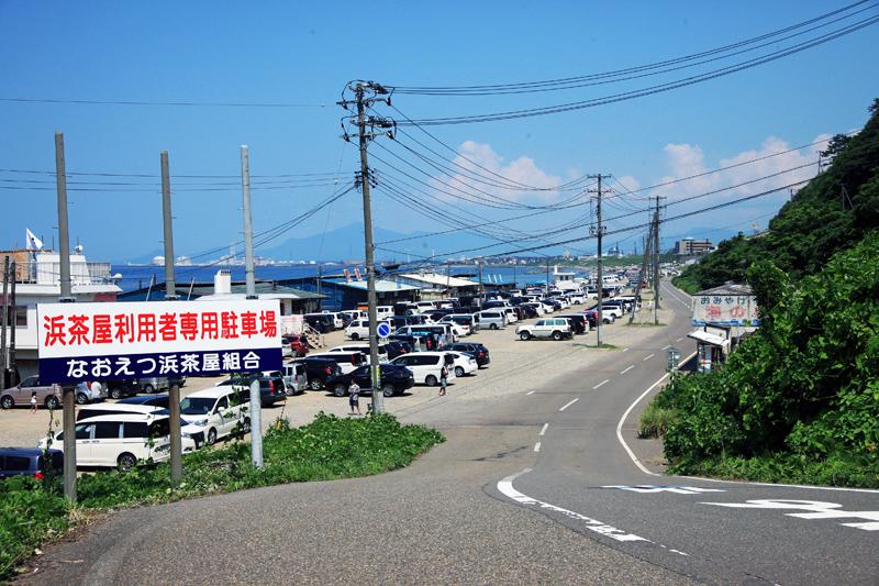 海水浴場駐車場
