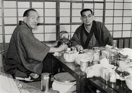 野田高梧と小津監督