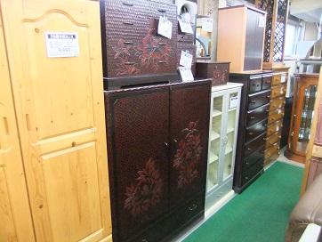 鎌倉彫 和箪笥 (2)