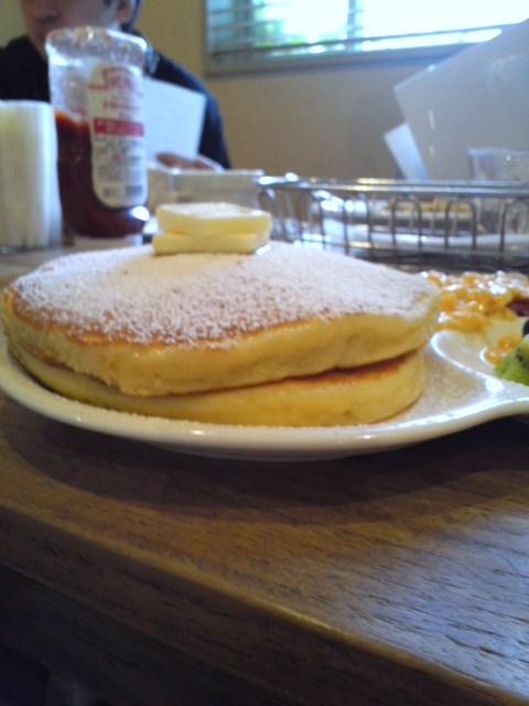 アクイーユのパンケーキ