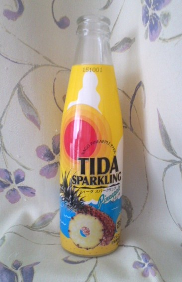 TIDA SPARKLING Pineapple(ティーダ スパークリング パイナップル)