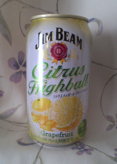 JIM BEAM Citrus Highball(シトラスハイボール・グレープフルーツ)