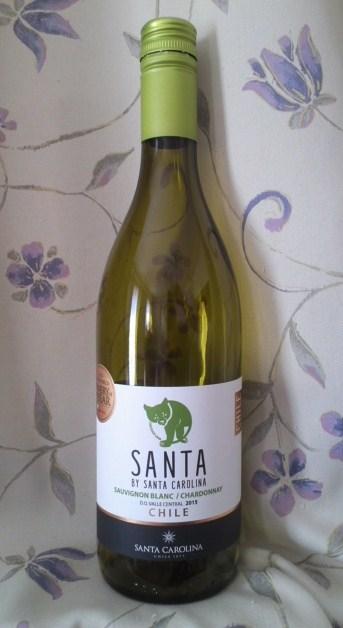 SANTA BY SANTA CAROLINA(サンタ バイサンタ カロリーナ)ソーヴィニヨン・ブラン シャルドネ