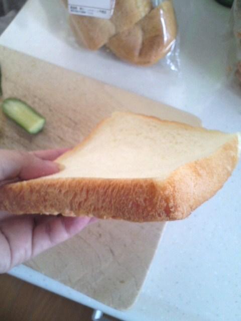パンの耳と耳サンド