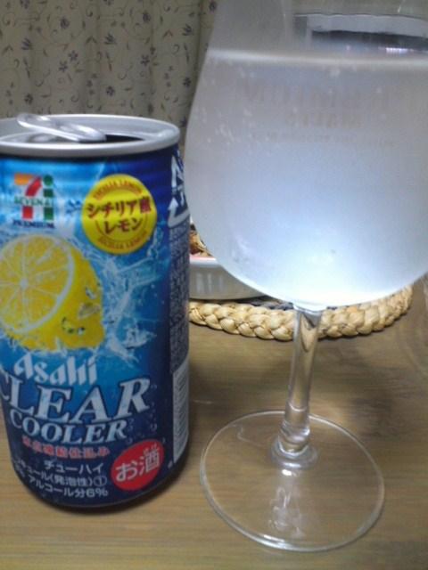 Asahi CLEAR COOLER シチリア産レモン