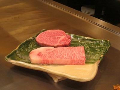s-仙台牛のフィレと近江牛のサーロイン