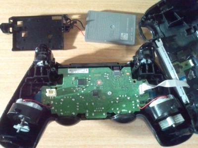 PS4アナログスティック修理D
