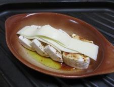 豆腐の七味チーズ焼き 調理③